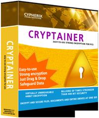Description: Cypherix® - Cryptainer Disk Encryption Software