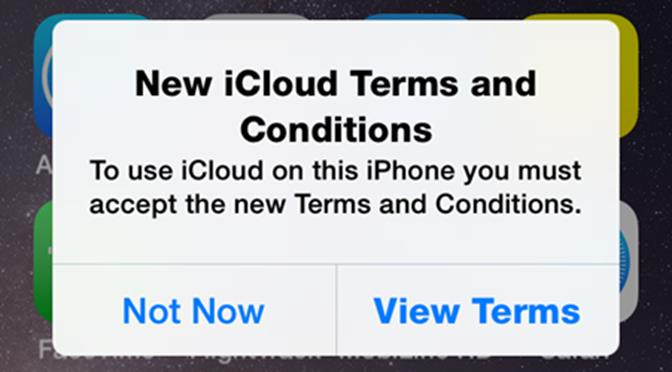 iCould Terms and Conditions