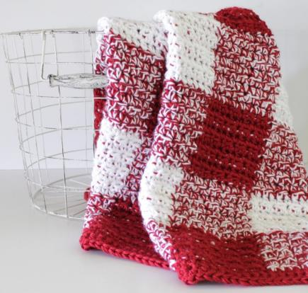 Red Gingham Blanket
