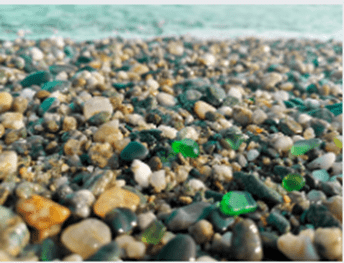Difference between sea glass and iris glass