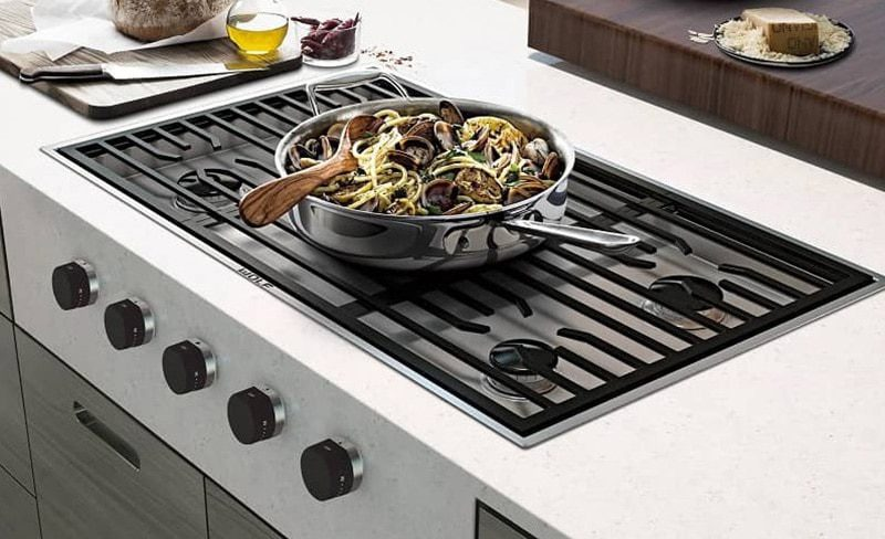 best gas cooktop with downdraft buying guide