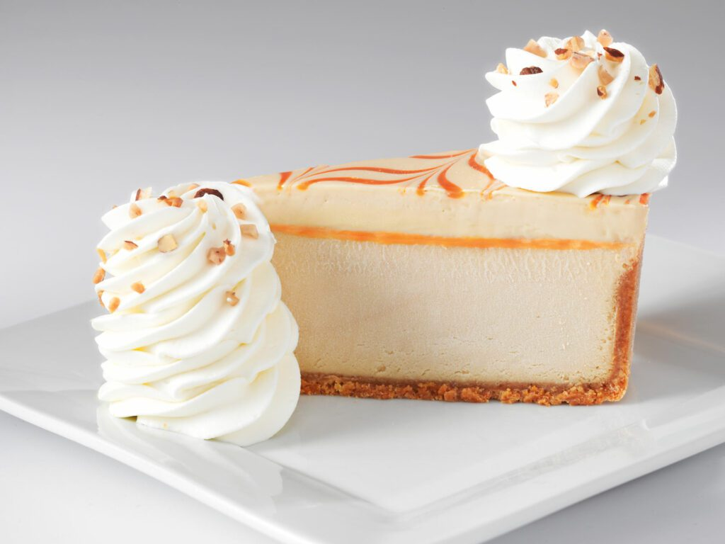 Dulce de Leche Caramel Cheesecake at Cheesecake Factory