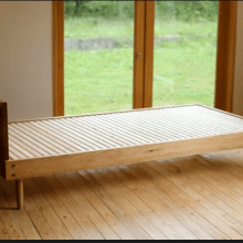 Making a wooden bed diy
