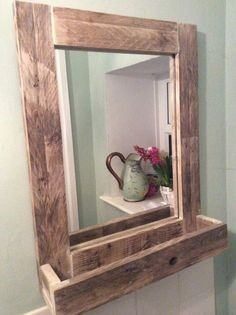 Wooden Frame With Designs