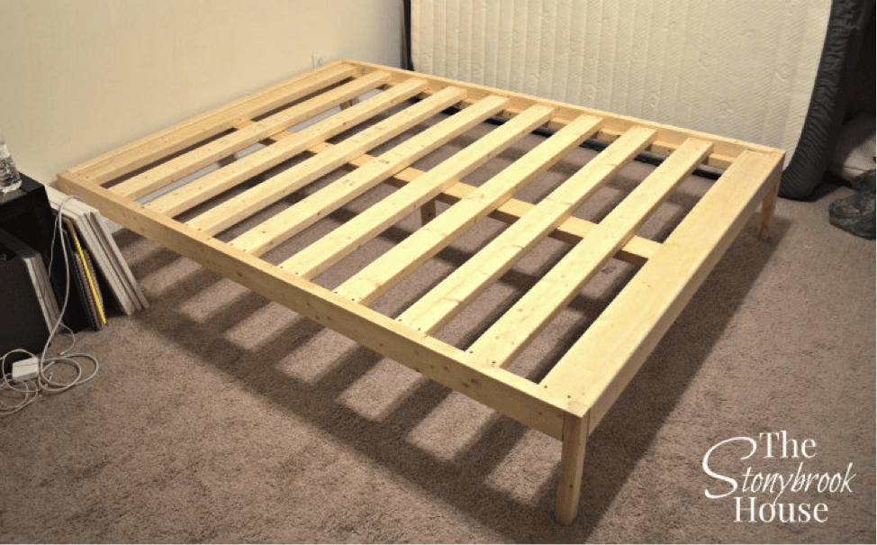 Easy Bed Frame Plan