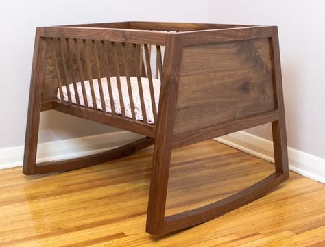 The comfortable baby cot