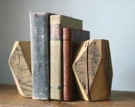 Wooden book support