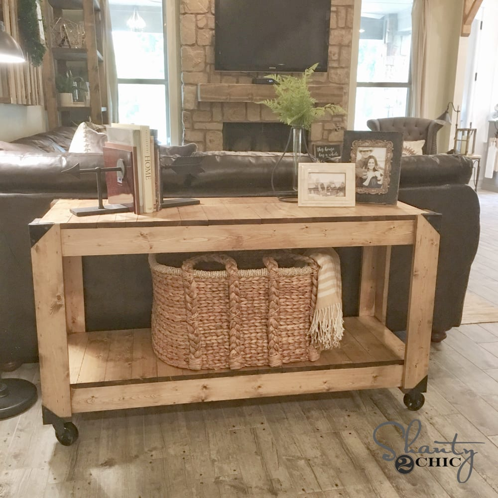 Console table project
