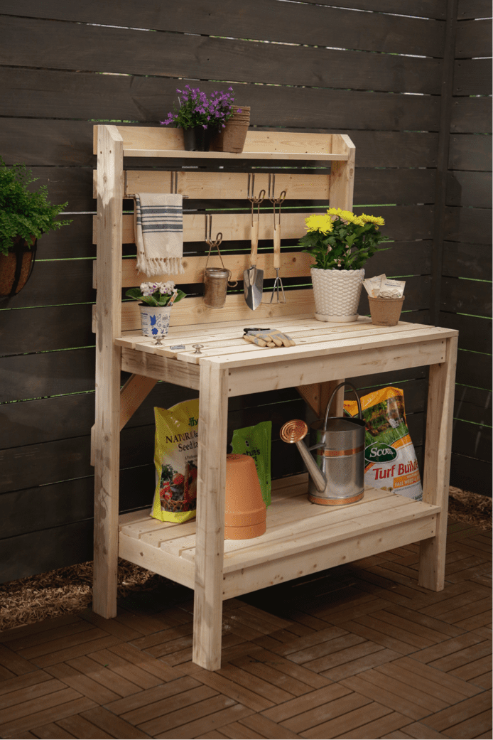 Potting Bench Plan