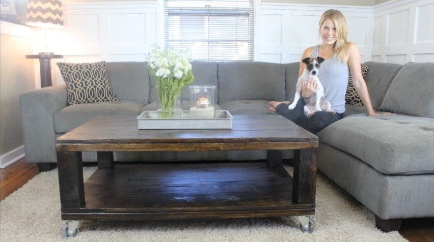 How To Build Rustic Coffee Table