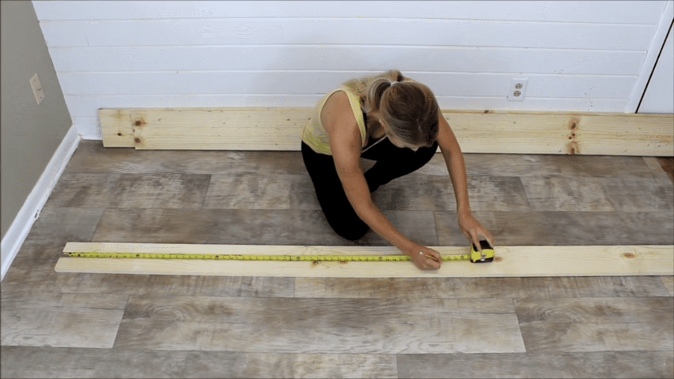 step 1 measure and cut the wood