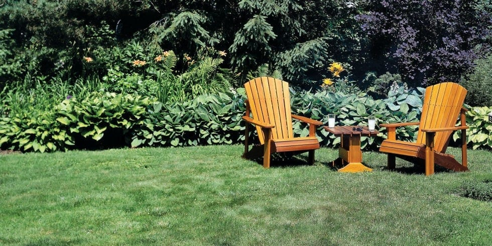 02 Adirondack Chair And Table