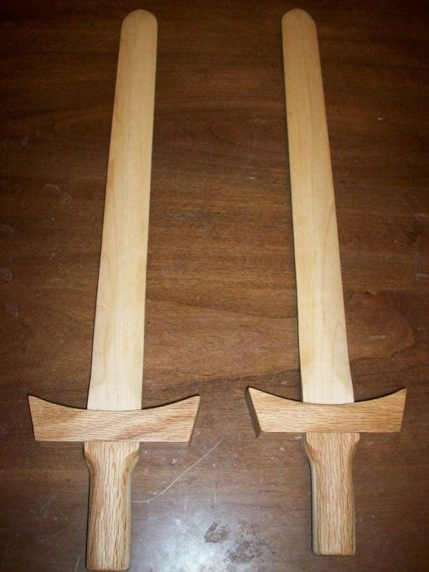 08 Wooden Swords