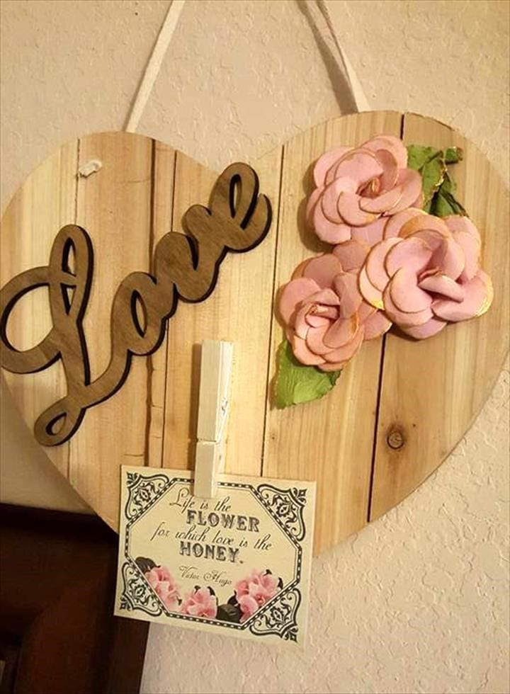 Wooden Hanging Wedding Gifts