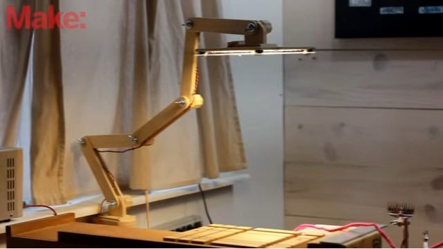 How To Build an Articulating LED Task Lamp