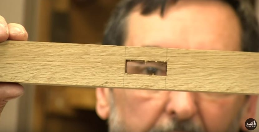 11 Clean The Hole With The Chisel