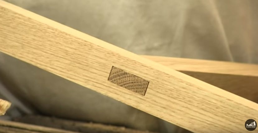 18 Completing The Mortise And Tenon Joint