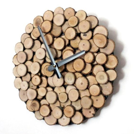 20 Eco Friendly Wood Wall Clock