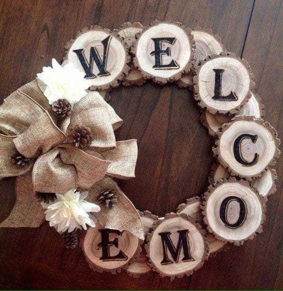 22 Welcome Wreath