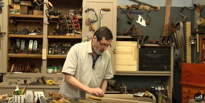6 Affix The Wood On The Working Table