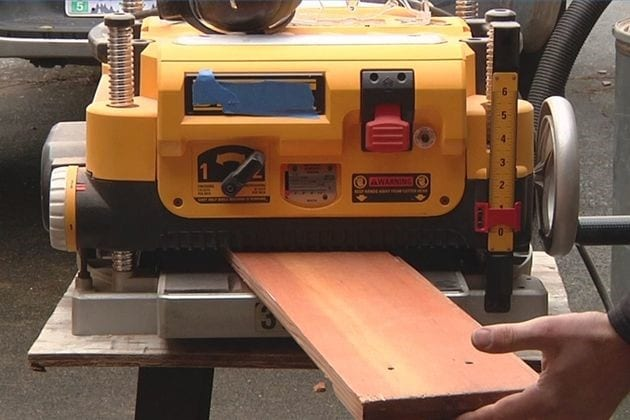 How To Properly Use A Surface Planer