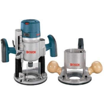 Bosch 1617EVSPK 12 Amp 2-1-4-Horsepower Plunge and Fixed Base Variable Speed Router Kit