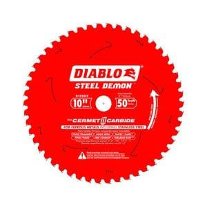 Freud D1050X Diablo 10-Inch 50-tooth ATB Combination Saw Blade