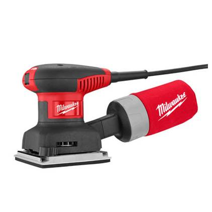 Milwaukee 6020-21 1-4-Sheet Orbital Sander