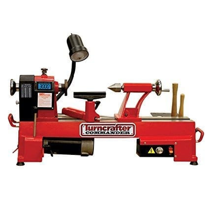 PSI Woodworking TCLC10VS Commander 10-Inch Variable Speed Mini Lathe