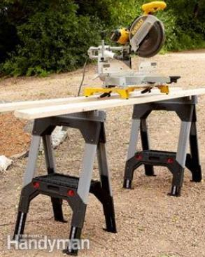 Feature Packed Sawhorse Plan