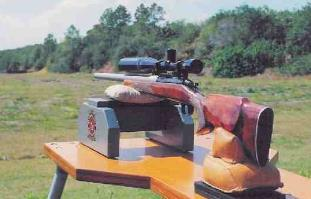 Portable Shooting Bench By Larry Willis