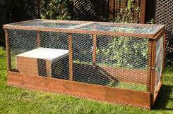 Rabbit Hutch That Can Even Fit Someone Inside