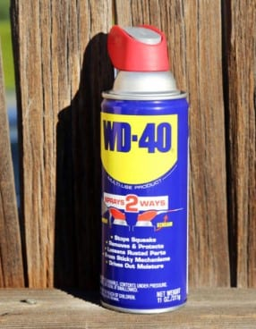 Add The Wd 40 Or Dishwasher Soap
