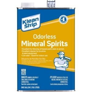Apply Mineral Spirits 1