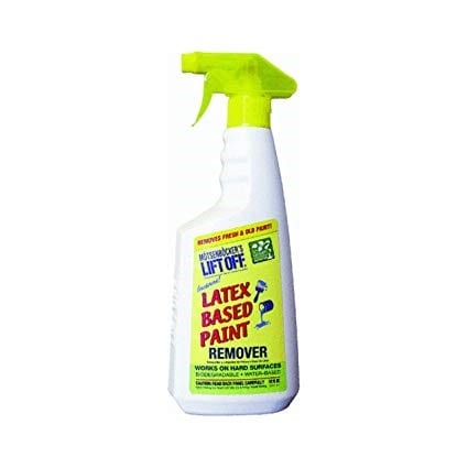 Applying Latex Paint Remover