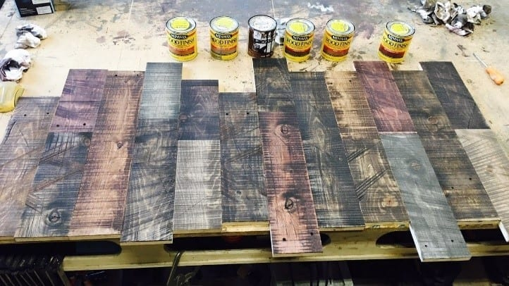 How To Antique Wood With Stain