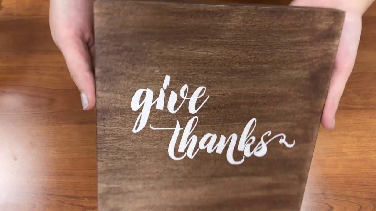 How To Make Vinyl Letters Stick To Wood