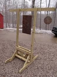 How To Build A Target Stand Out Of Wood