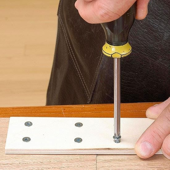 Make A Hole Then Screw The Wood Pieces Together Step 1 1