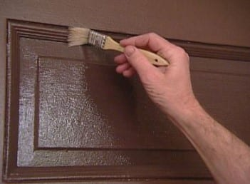 Painting The Grooves Of The Grain