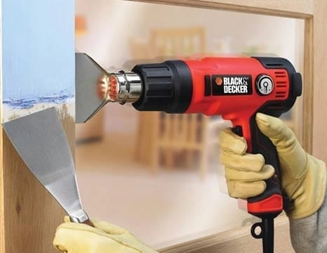 Remove Latex Paint With The Use Of A Heat Gun