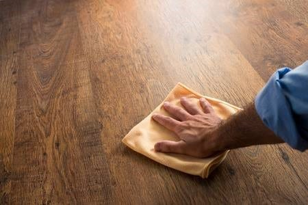 Rub The Paste Until The Stain Is Removed 1