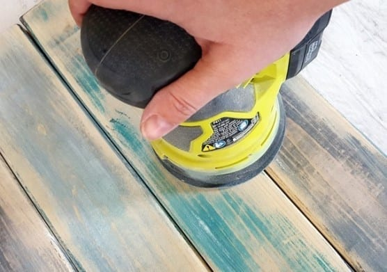 Sand With A Drill Or Use A High Grit Sandpaper To Rough The Piece Up