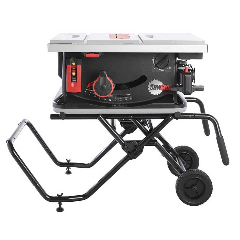 Sawstop Jobsite Saw Vs Bosch Worksite Table Saw