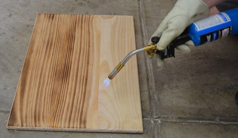 How To Torch Wood Cut The