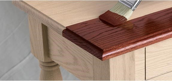 Step 2 Stain The Wood And Apply A Suitable Wood Finish
