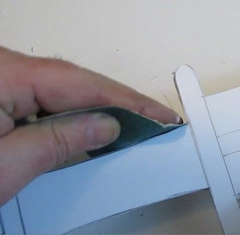 Step 4 Clean The Edges Of The Sword Using The Sandpaper