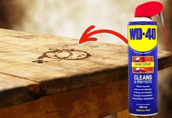 Use Wd 40 3