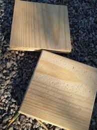 Use Gravel To Distress Wooden Furniture