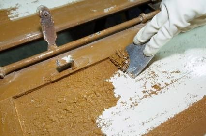 Use Liquid Paint Removers On Small Areas 1